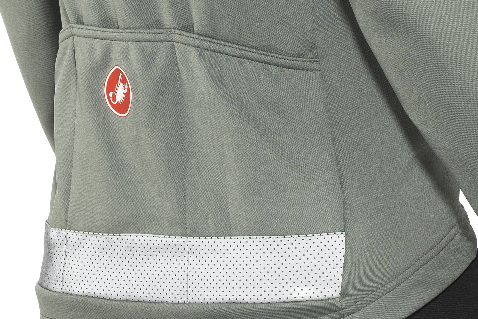 ▷ Castelli Puro 3 Full Zip Jersey Men forest gray online bei ... d8691d200